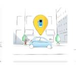 Visuel de la campagne pour la Twingo Electrique