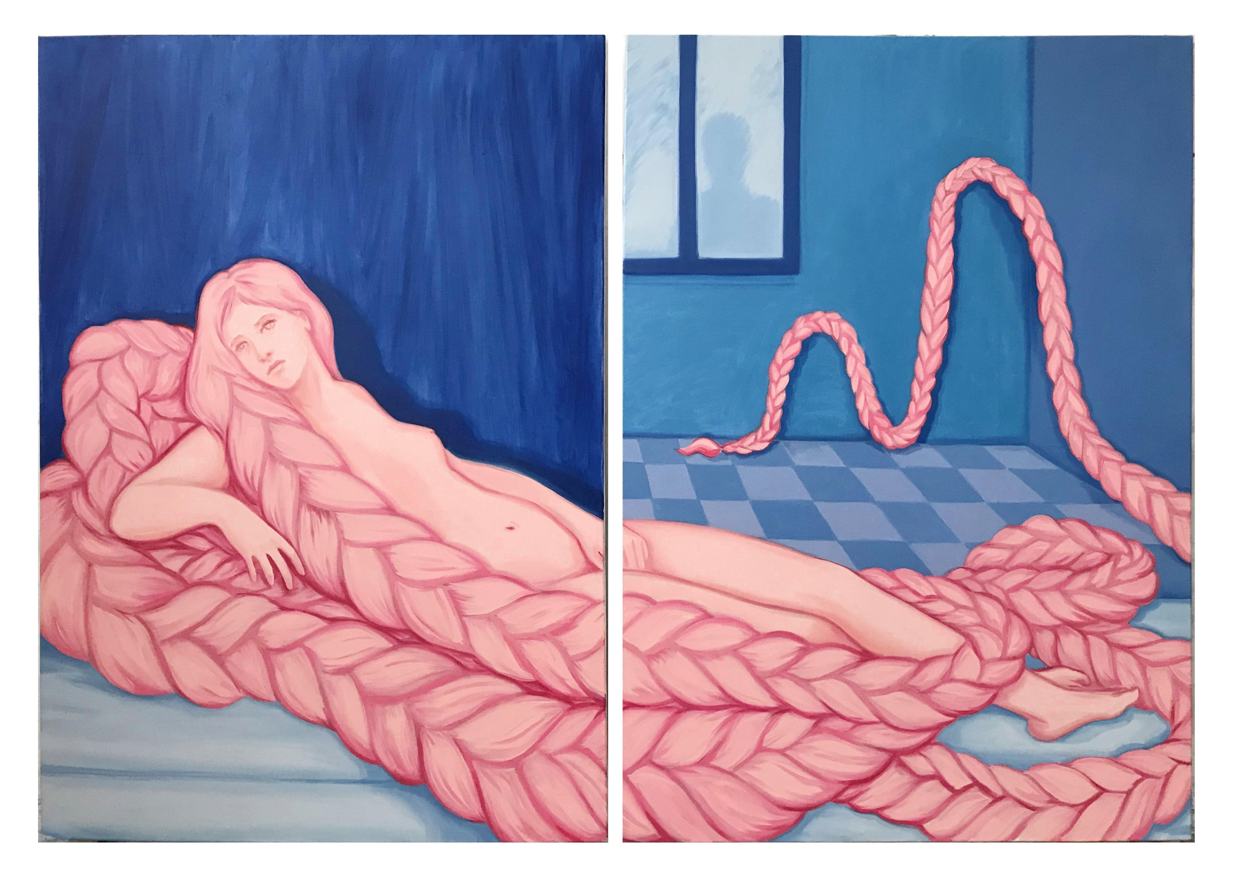 Une oeuvre de Lise Stoufflet
