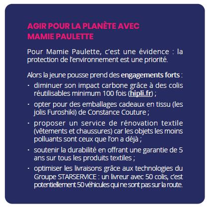Engagements Mamie Paulette