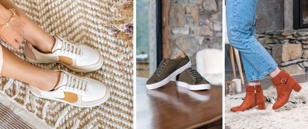 """3 paires de chaussures de la marque """"Minuit sur Terre"""""""
