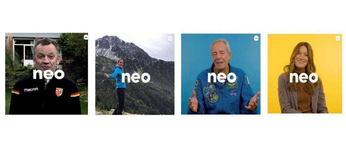Capture d'écran de vidéos du média Néo