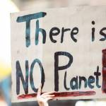 "Message ""There is no Planet B"""