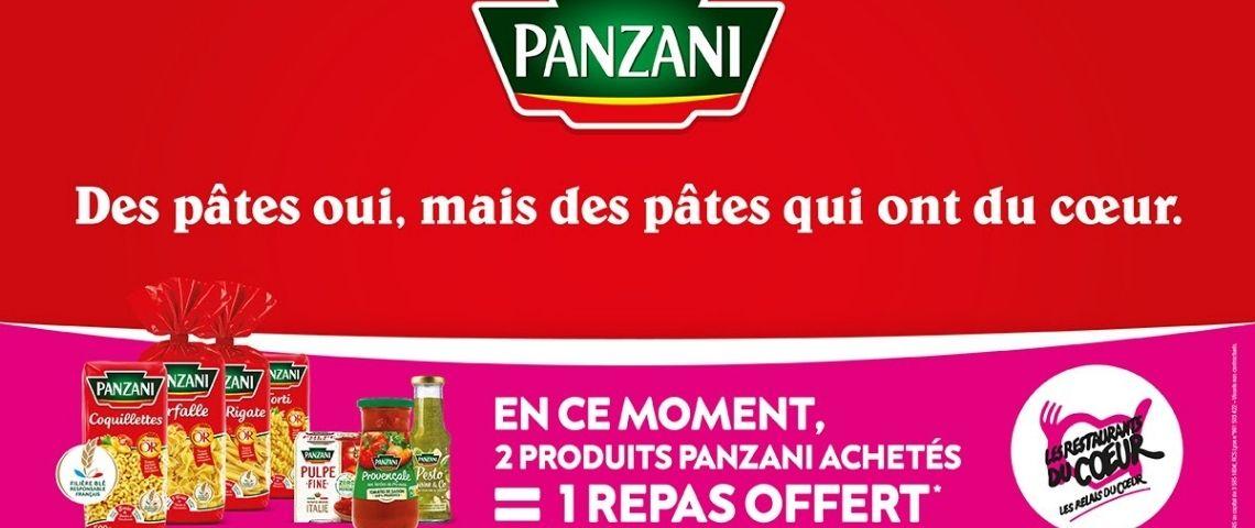 Packaging Panzani