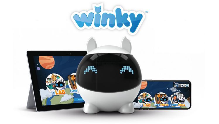 Robot winky