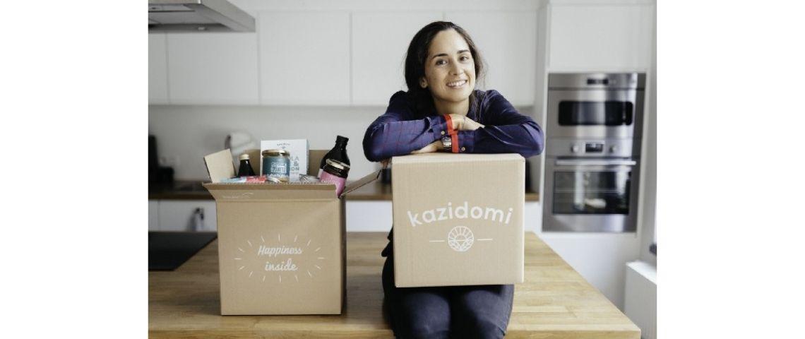 Emma Everard fondatrice de Kazidomi