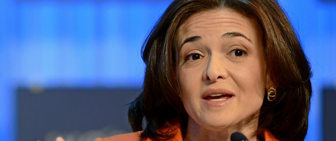 Sheryl Sandberg directrice des opérations de Facebook en 2013