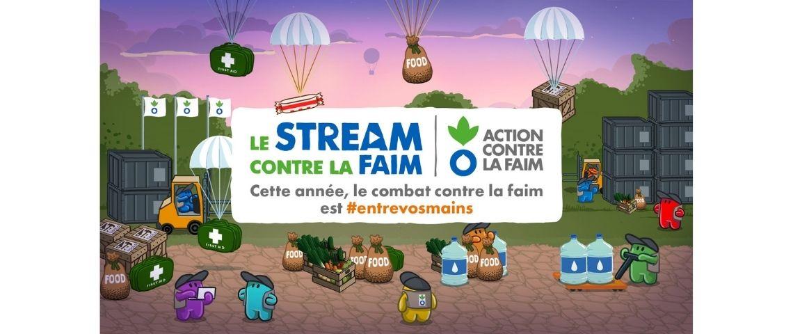 Logo Le Stream Contre La Faim