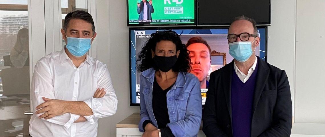 Laurent Guimier, cecuilia Gabizon et Jérome Doncieux