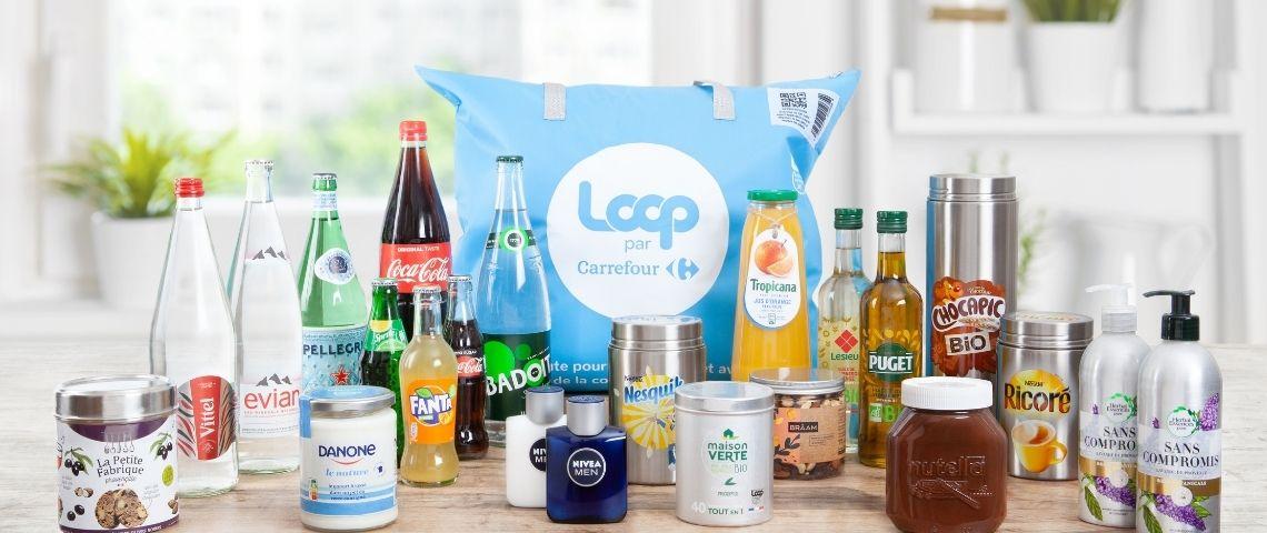 Gamme de produits réutilisables et consignables