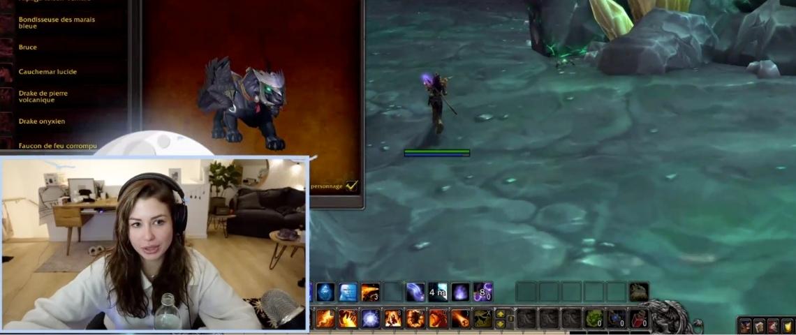 Sur Twitch, Enjoy Phoenix montre son savoir faire de gameuse
