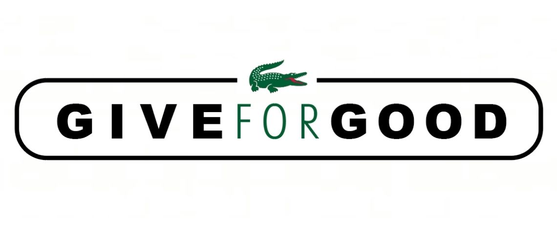 Logo Give For Good Lacoste