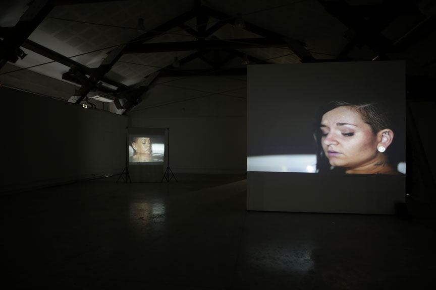 Ophélie Demurger, I shot Riri & side B of stay, 2018