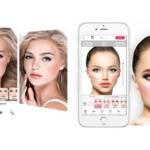 capture de l'application YouCam Makeup