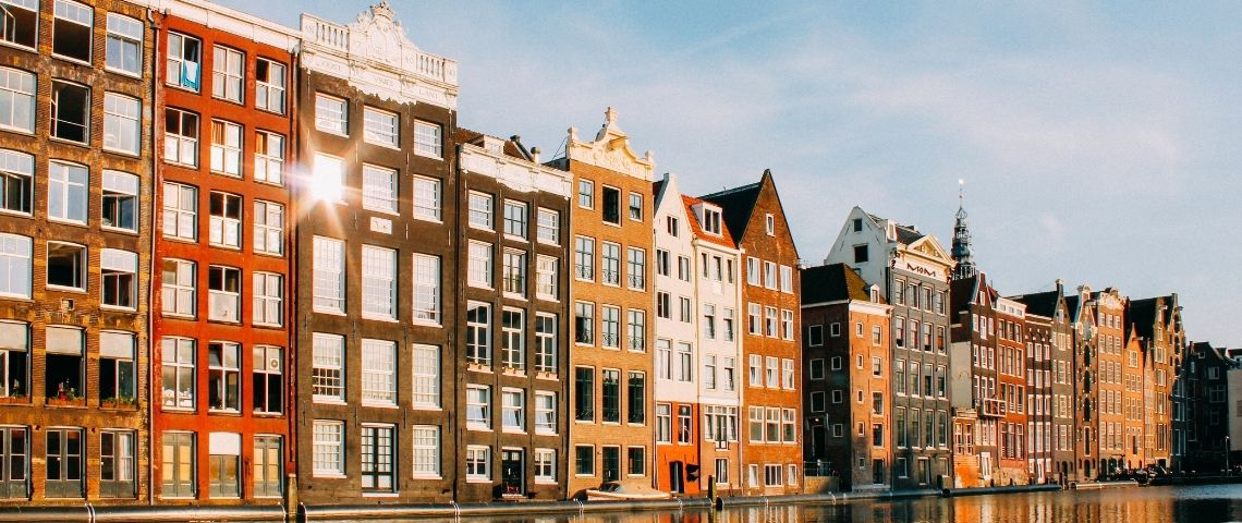 Amsterdam et son canal