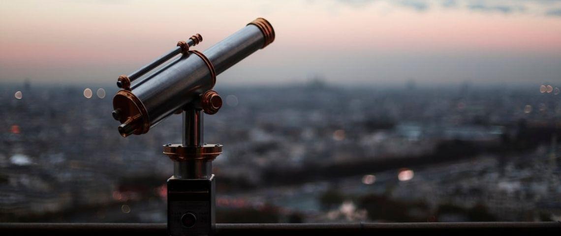 La vue sur Paris