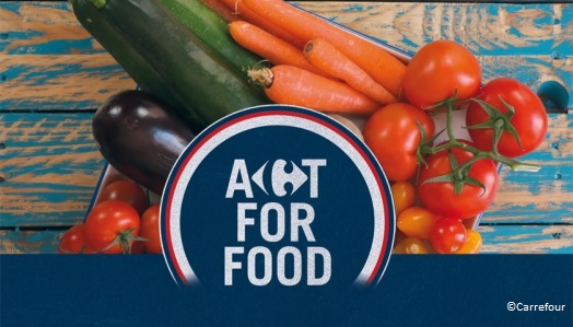 Logo Act For Food