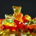Bonbon gélifié en forme d'ourson