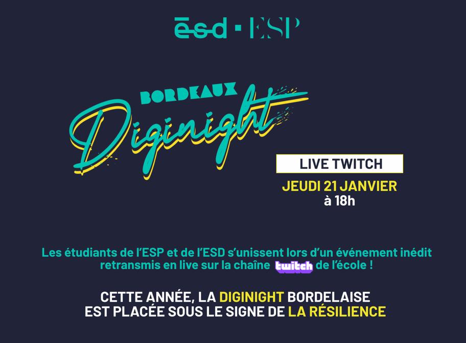 Logo du Digital Event Live