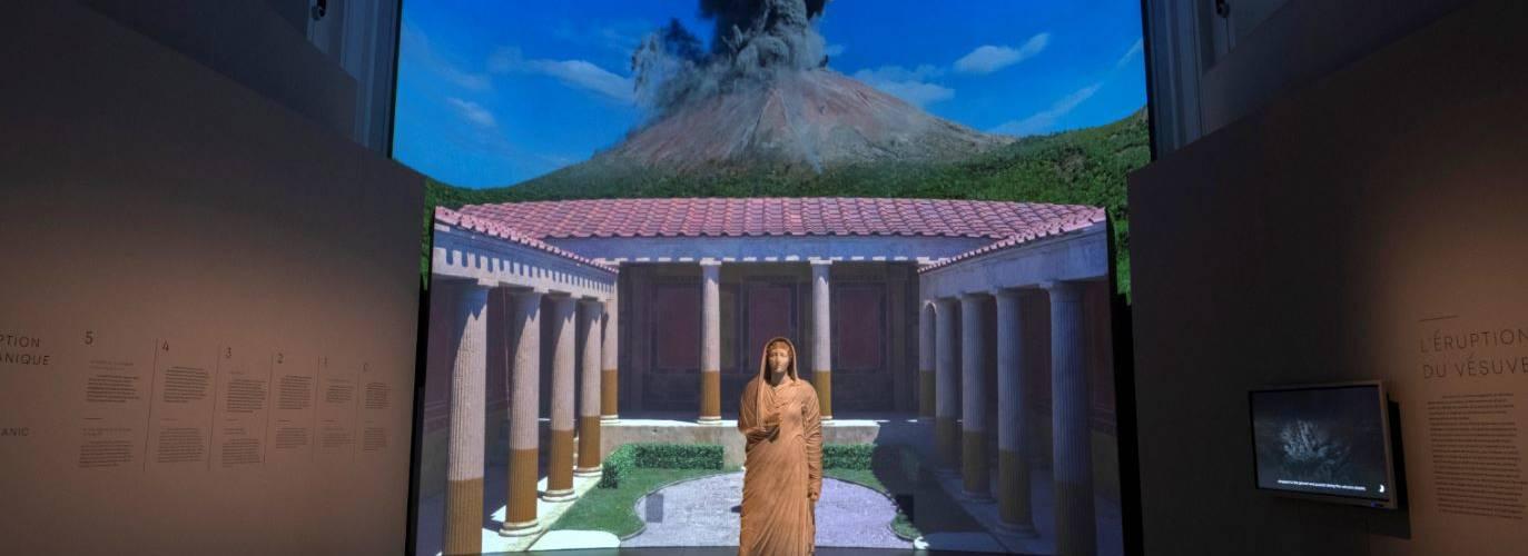 Exposition numérique et immersive Pompei