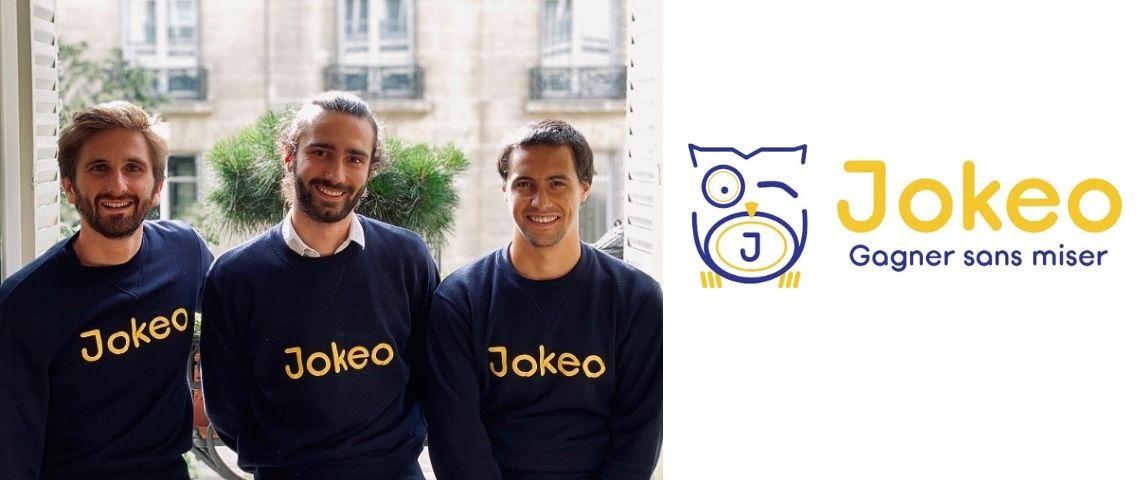 Les 3 fondateurs de Jokeo