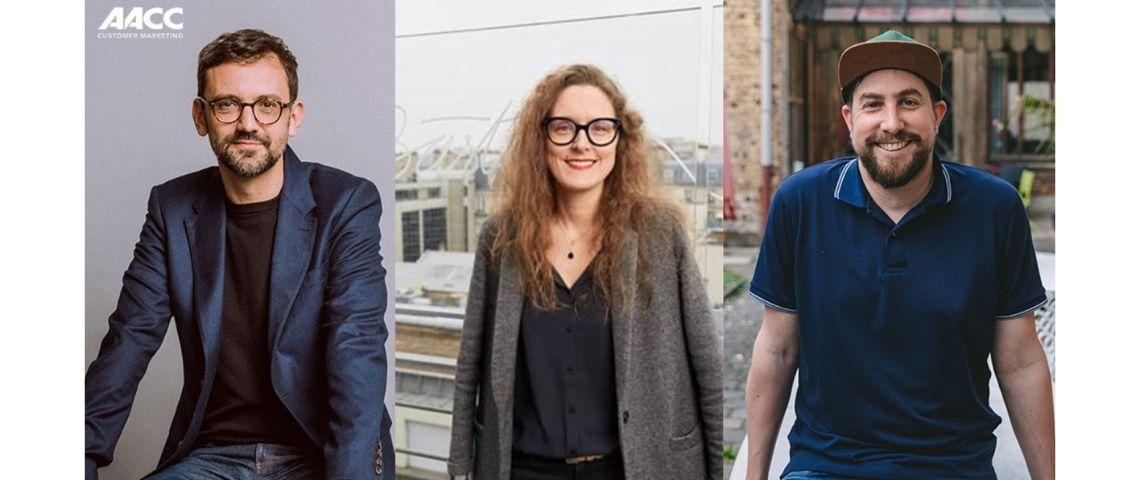 Olivier Vigneau, Hélène Meinerad et Lionel Damm
