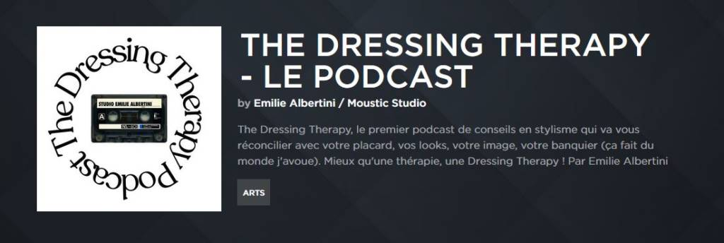 Capture du podcast The Dressing Therapy