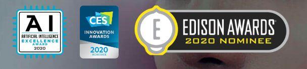 Logo des récompenses recues par l'application Perfect Corp. Spécialiste de la beauté Tech, a annoncé une levée de fonds de 50 millions de pour son développement international