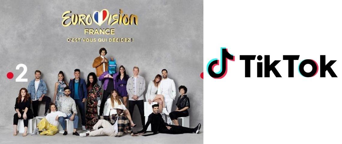 Candidats en lice pour représenter la France à l'Eurovision