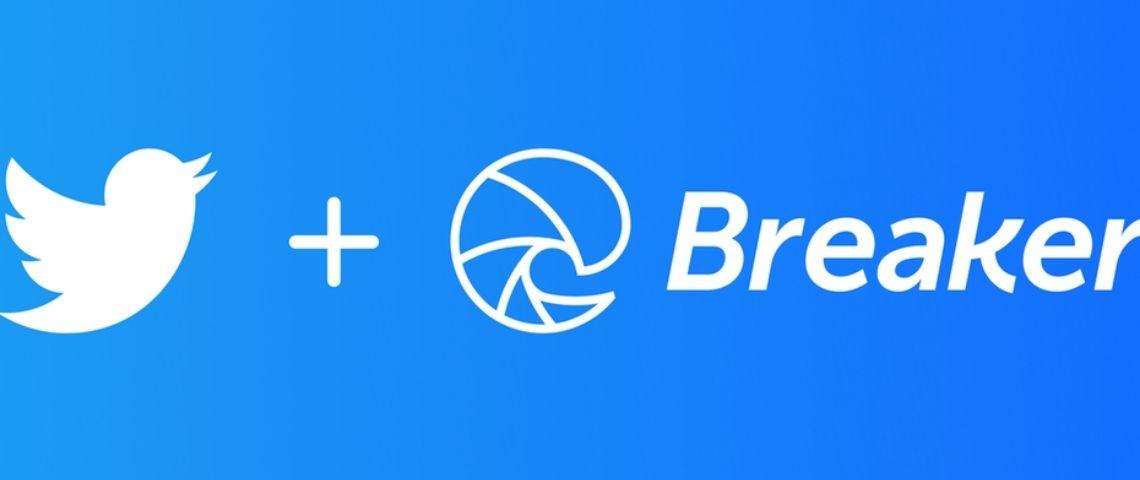 Logo Twitter et Breaker