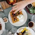 Variétés de plats sur un table