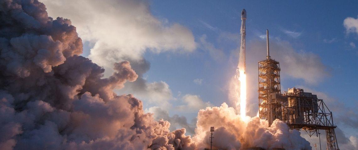 Fusée, Space X, décollage, Rocket, espace
