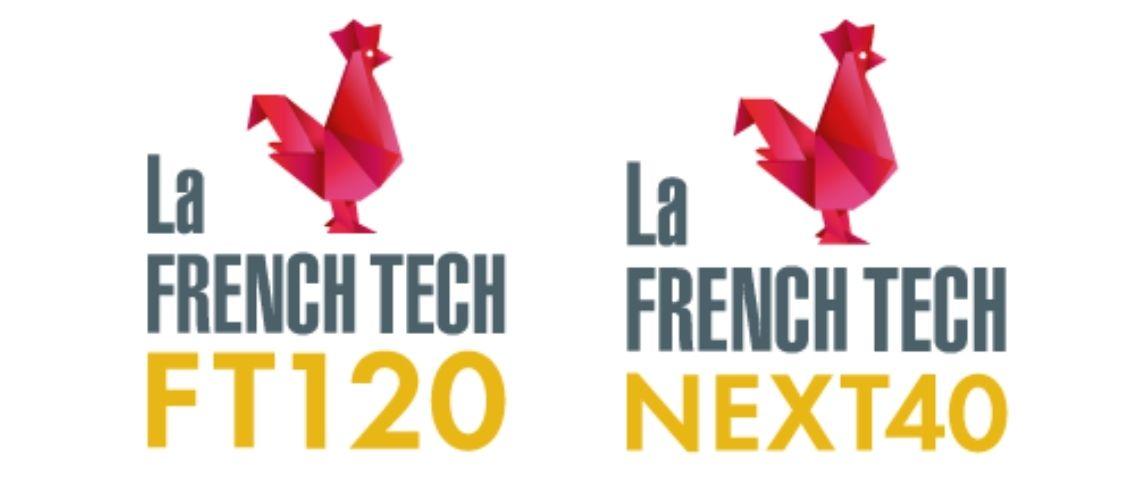 Logo french Tech 120 et French Next 40