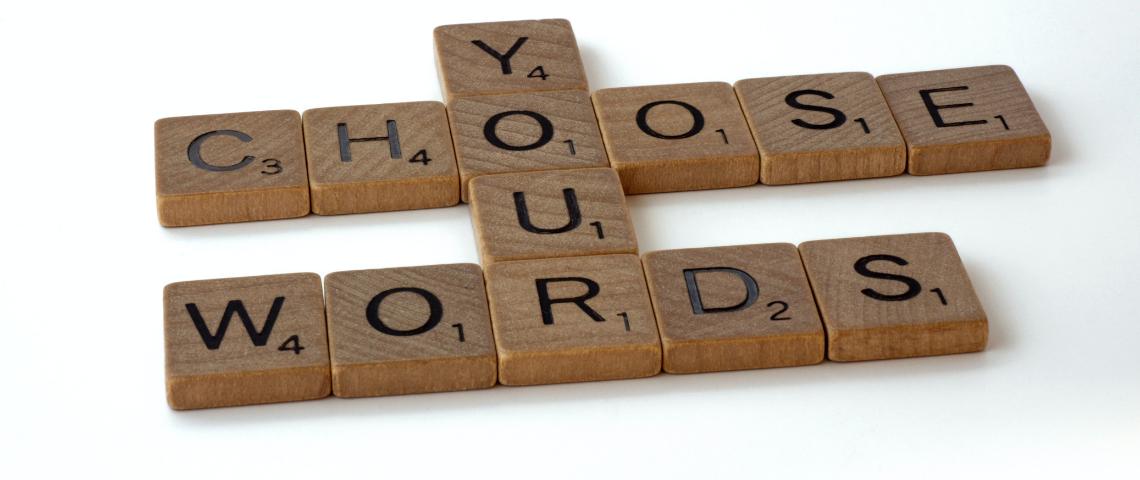 Mot de Scrabble : Choose/Your/Words