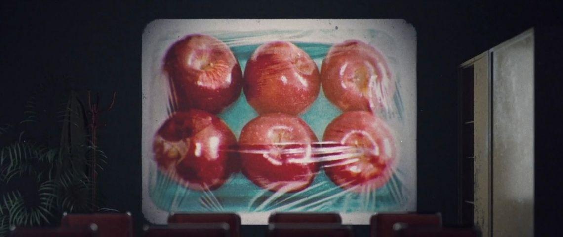 Pommes emballées sous vide
