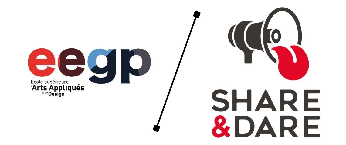 Logo EEGP / Share & Dare