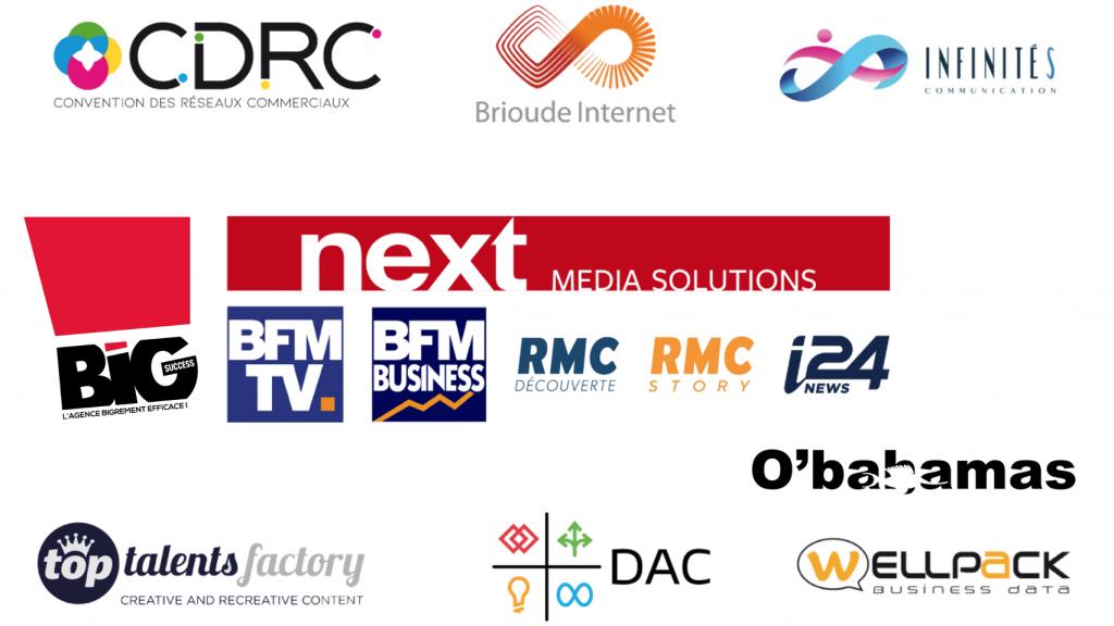 logo des partenaires du Big Concours