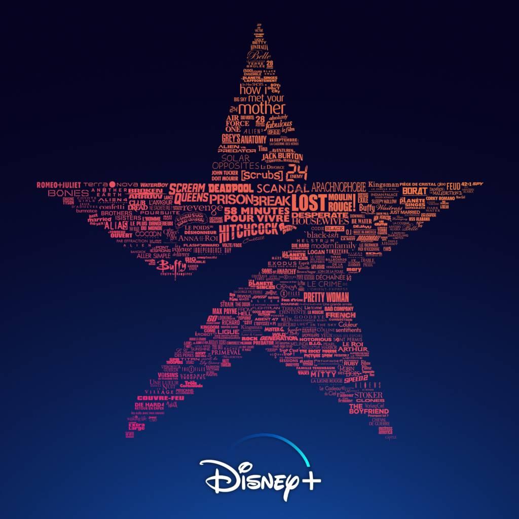Logo Star de Disney+