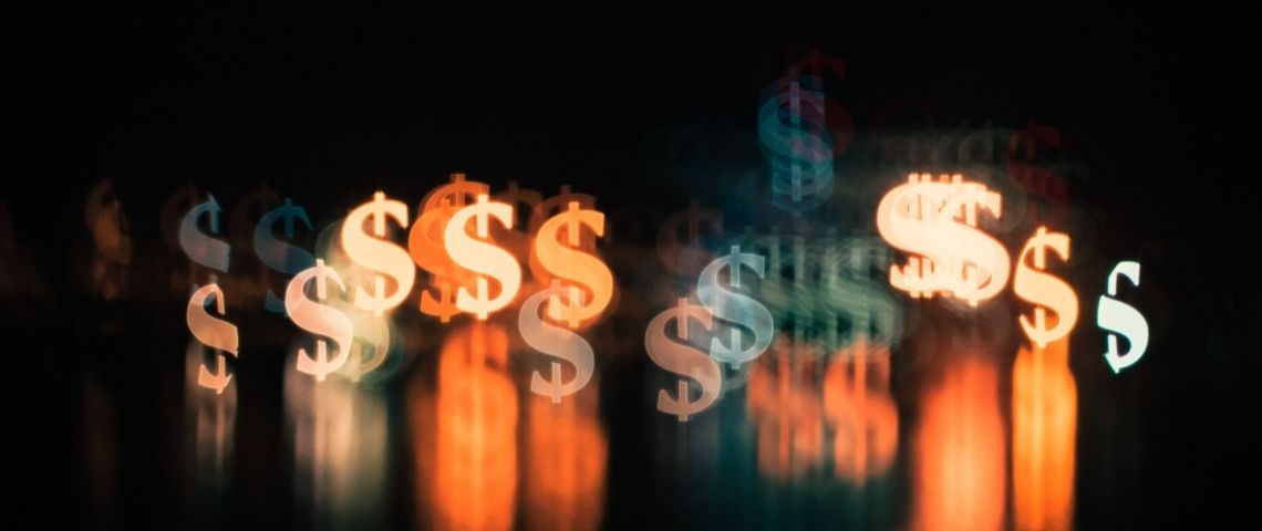 Des dollars lumineux