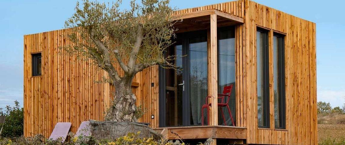 Studio de jardin en bois