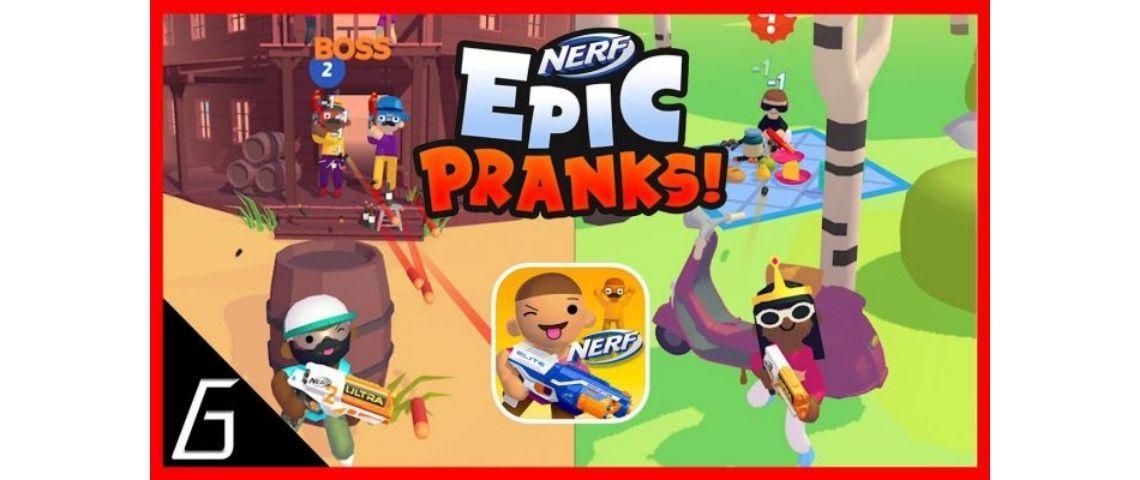 Capture du jeu Nerf Epic Pranks !
