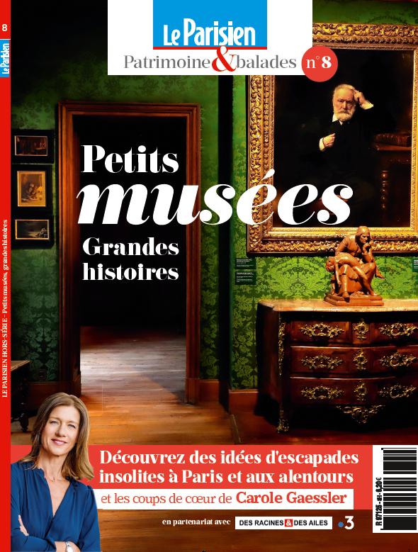 Couverture du Hors Série : Petis musées, grandes histoires du Parisien