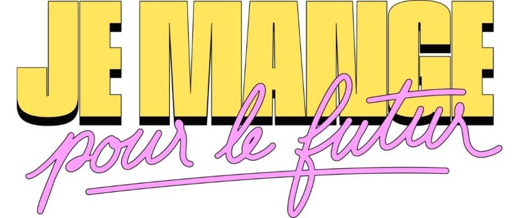 """Logo """"Je mange pour le futur"""""""