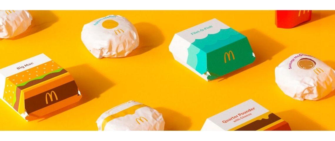 Nouveaux emballages MCDonald