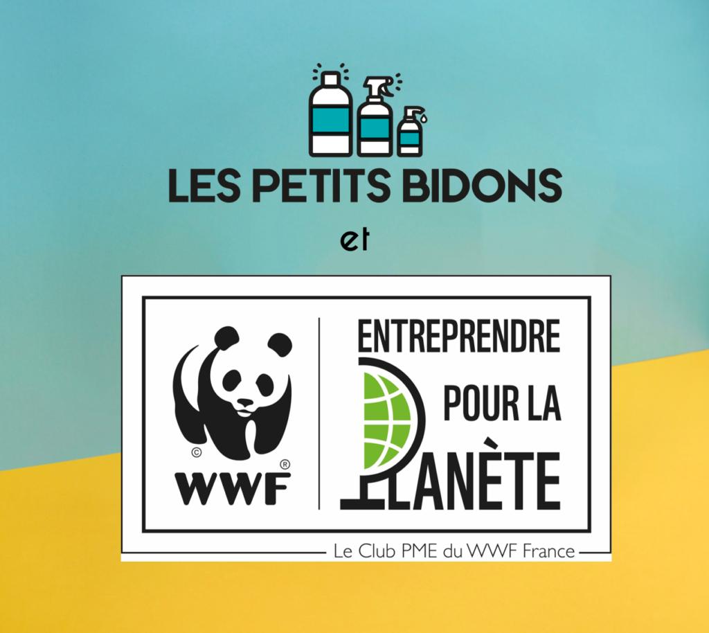 Logo Club entreprendre pour la Planète du WWF France