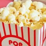 Gros plan sur du popcorn