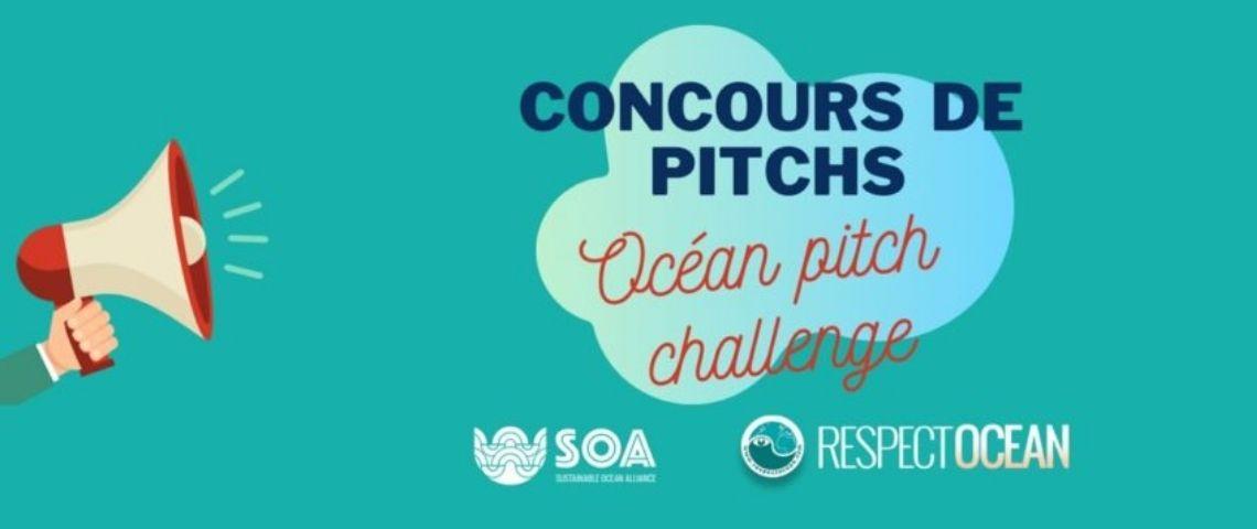 Logo du concours « Ocean Pitch Challenge »