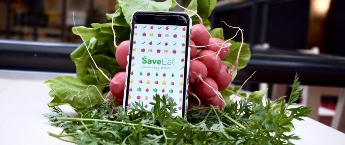 Visuel de l'application Save Eat