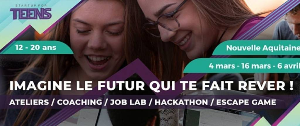 "Affiche ""Startup For Teens """
