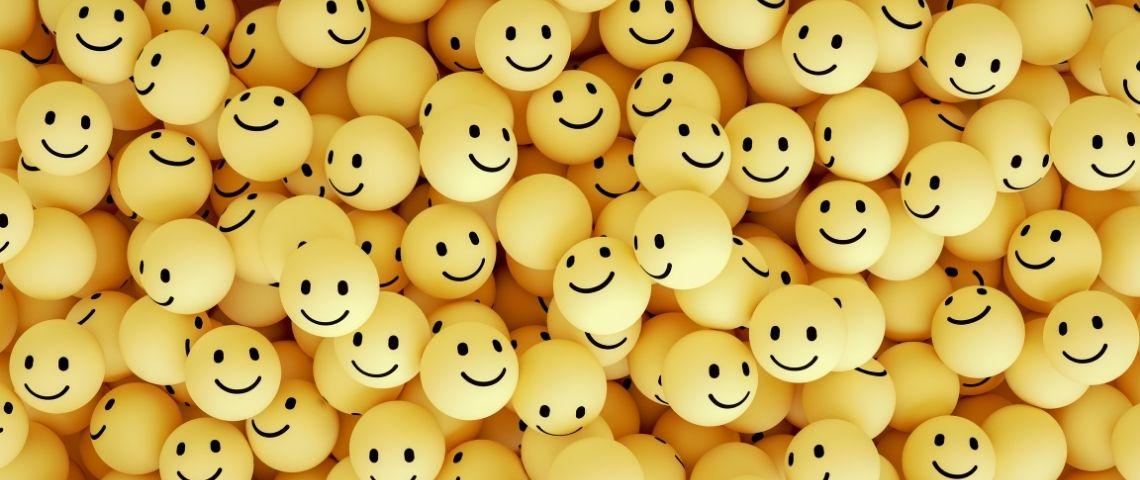Des emojis avec le sourire