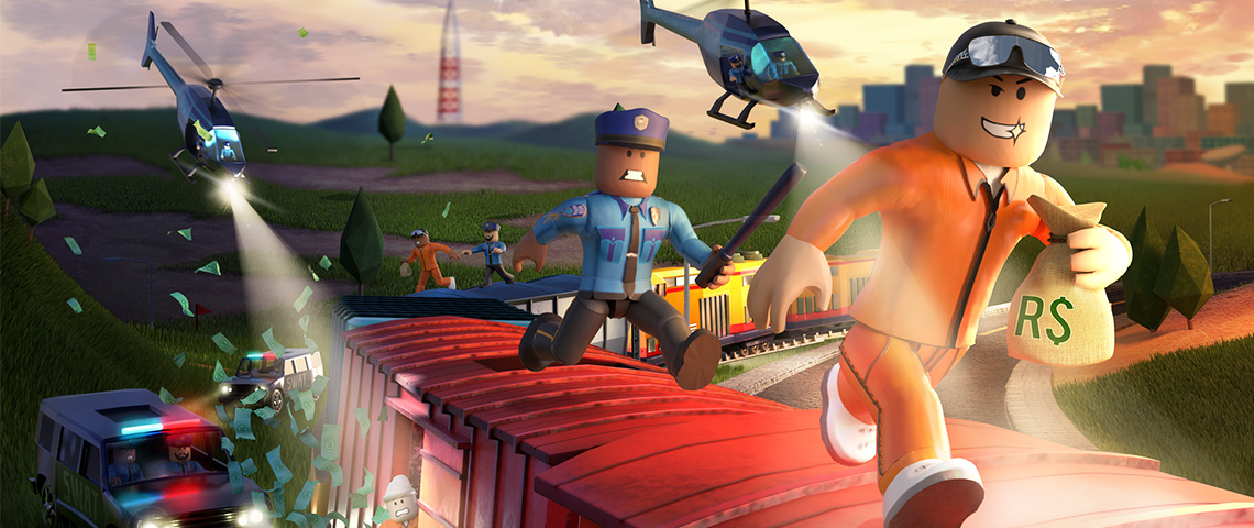 Roblox, jeux video, poursuite, voleurs
